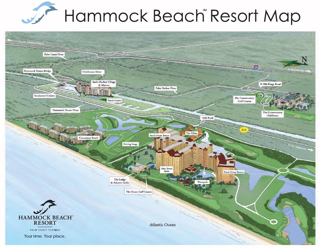 Hammock Beach Florida Map Resort Map | Hammock Beach Resort | Florida