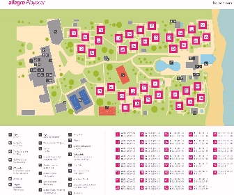 Allegro Playacar Beach Club Resort Map Layout