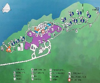Angsana Cayo Santa Maria Resort Map Layout