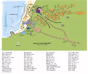 Anse Chastanet Resort Map Layout