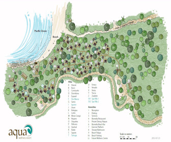 Aqua Wellness Resort Map Layout