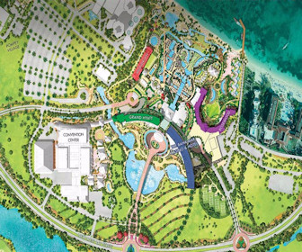 Grand Hyatt Baha Mar Resort Map Layout