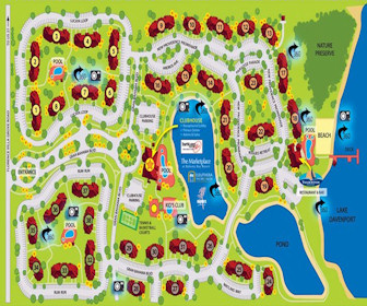 Bahama Bay Resort Resort Map Layout