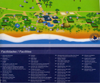 Barcelo Tambor Resort Map Layout