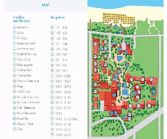 Roc Barlovento Resort Map Layout