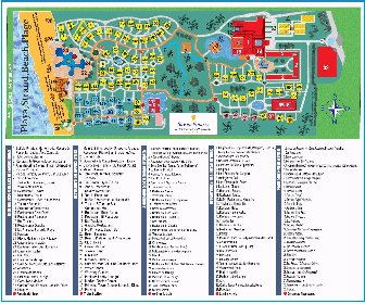 Bavaro Princess Resort Map Layout