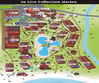 Be Live Collection Marien Resort Map