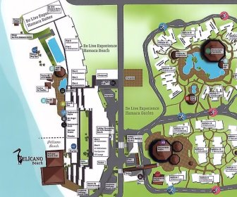 Be Live Experience Hamaca Beach Resort Map Layout
