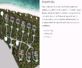 Beach Enclave - North Shore Villas Resort Map Layout