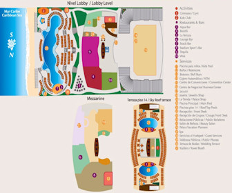 Beach Palace Resort Map Layout