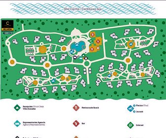 Villa Bellarena Resort Map Layout