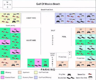 Belleair Beach Resort Map Layout