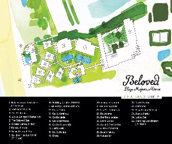 Beloved Playa Mujeres By Excellence Group Resort Map Layout