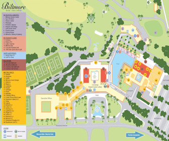Biltmore Miami Resort Map Layout