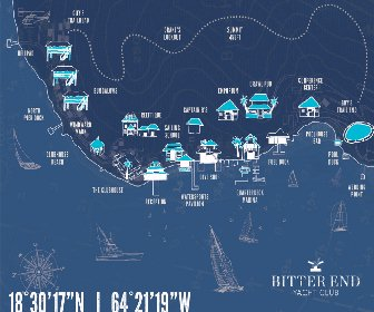 Bitter End Yacht Club Resort Map Layout