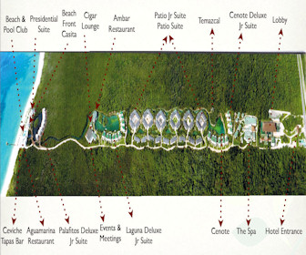 Blue Diamond Riviera Maya Resort Map Layout