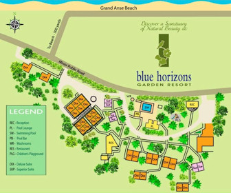 Blue Horizons Resort Map Layout