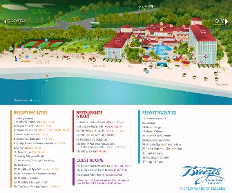 Breezes Bahamas Resort Map Layout