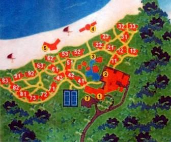 Brisas Covarrubias Resort Map Layout