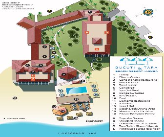 Bucuti & Tara Beach Resort Resort Map Layout