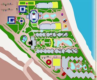 Villa Del Palmar Resort Map Layout