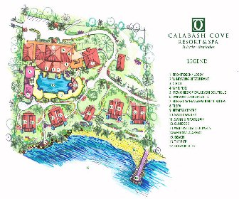 Calabash Cove Resort Map Layout