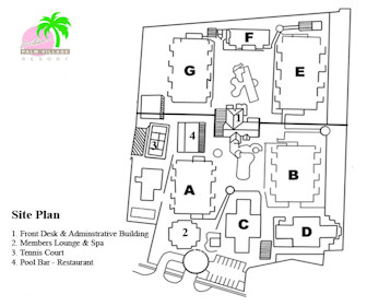 Caribbean Palm Village Resort Map Layout