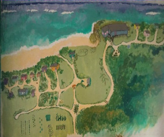 Casa Iguana Corn Island Resort Map Layout