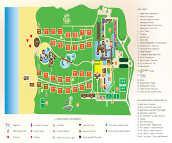 Catalonia Bavaro Resort Map Layout
