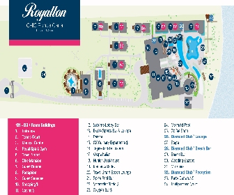 CHIC by Royalton Luxury Resorts Resort Map Layout