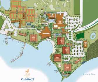 Club Med Sandpiper Bay Map Layout
