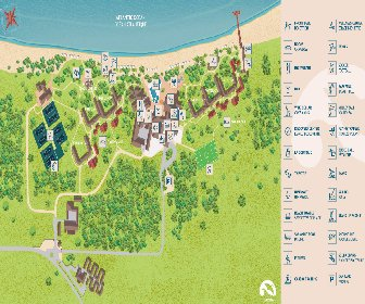 Club Med Turkoise Resort Map Layout