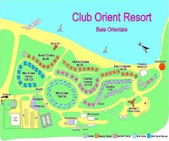 Club Orient Resort Map Layout