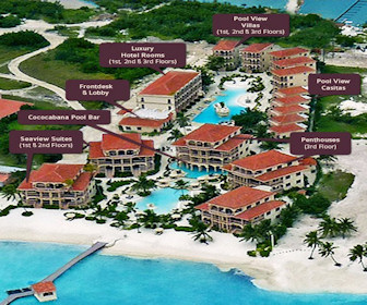 Coco Beach Resort Map Layout