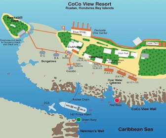 Coco View Resort Map Layout