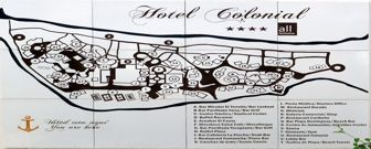 Hotel Colonial Cayo Coco Resort Map layout