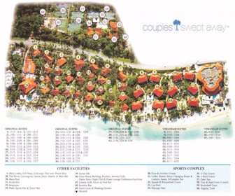 Couples Swept Away Resort Map Layout