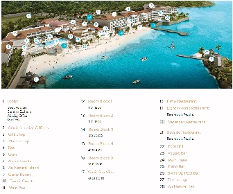Couples Tower Isle Resort Map Layout