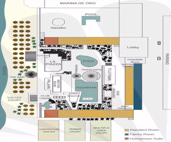Crown Paradise Club Resort Map Layout