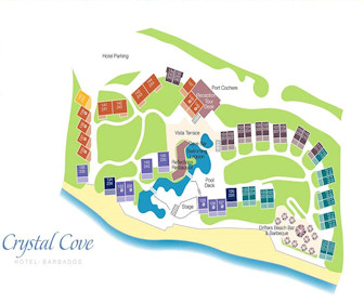 Crystal Cove Resort Map Layout