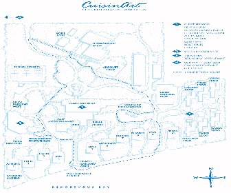 Cuisinart Resort Map Layout