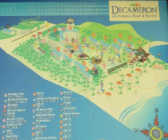 Decameron Galeon Resort Map Layout
