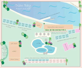 Dian Bay Resort Map Layout