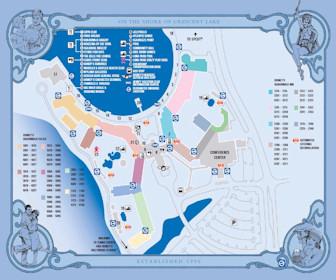 Disney''s Boardwalk Inn and Villas Map Layout