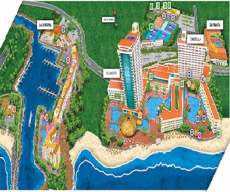 El Cid Resorts Map Layout