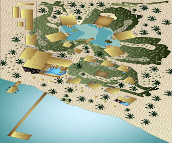 El Secreto Belize Resort Map Layout