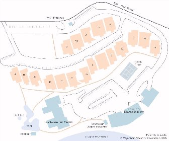 Elysian Beach Resort Map Layout