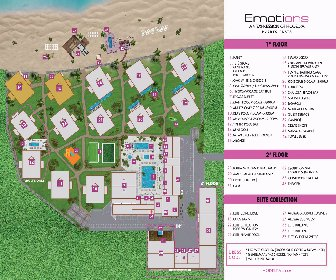 Emotions By Hodelpa Playa Dorada Resort Map layout