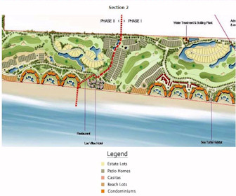 Estrella Del Mar - section 2 Resort Map Layout