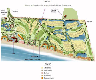 Estrella Del Mar - section 3 Resort Map Layout